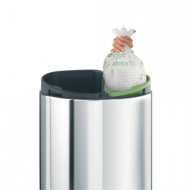 Brabantia Waste bag 10 l. Bio Green - Brand C