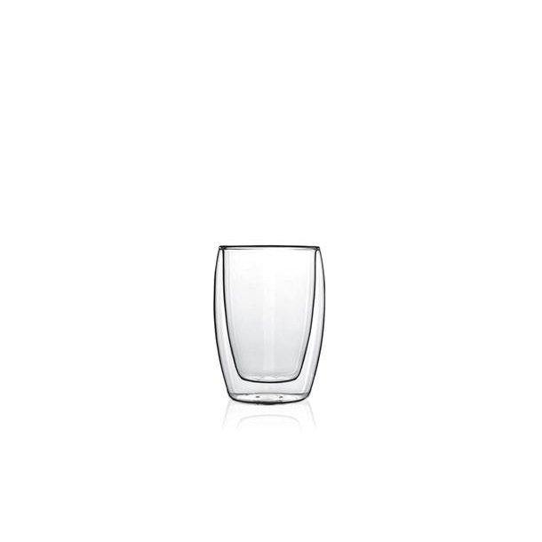Luigi Bormioli Thermic Juiceglas 2 Stk. Klar Dobbeltvæg