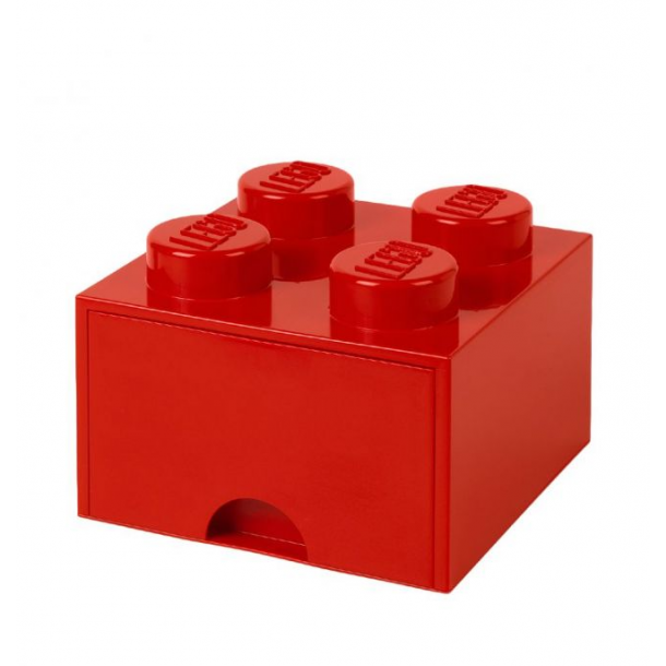 Lego Drawer Storage Box With 1 Drawer 4 Red