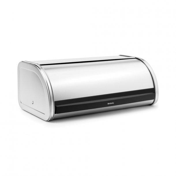 Brabantia Breadbox Roll top Matt Steel