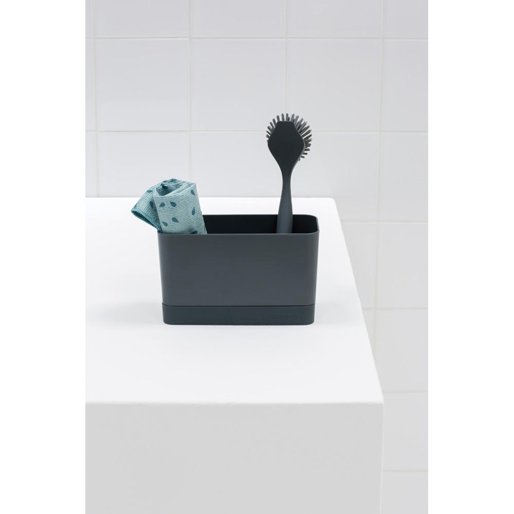 Moderne Brabantia Vask organizer - Mørke Grå - Opvaskebørste holder HM-85