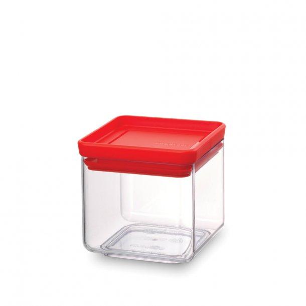Brabantia storage box square 0.7 ltr. Tasty Colors Red