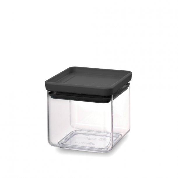 Brabantia TASTY+ Opbevaringsboxe - 0,7 l. - Mørk Grå
