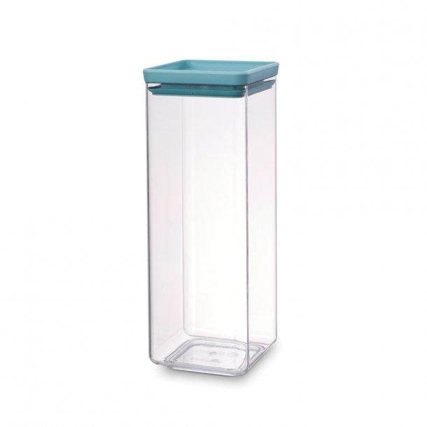 Brabantia Storage Box Square 2.5 Ltr. Tasty Colors Mint