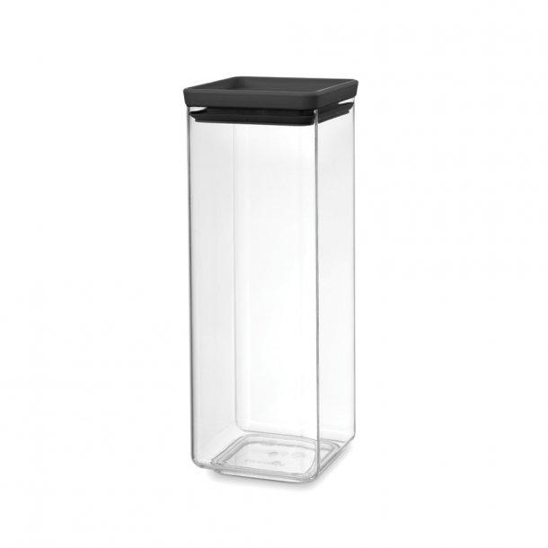 Brabantia TASTY+ Opbevaringsbox 2,5 l. - Mørk Grå