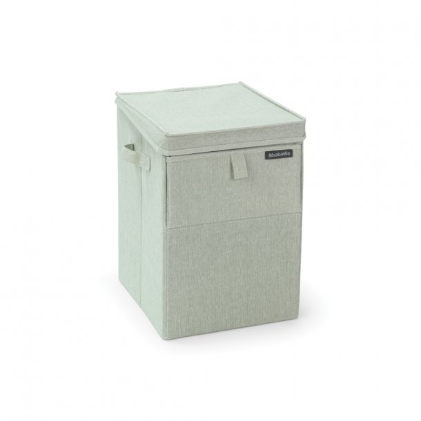 Brabantia Stabelbar vasketøjsbox, 35L Green