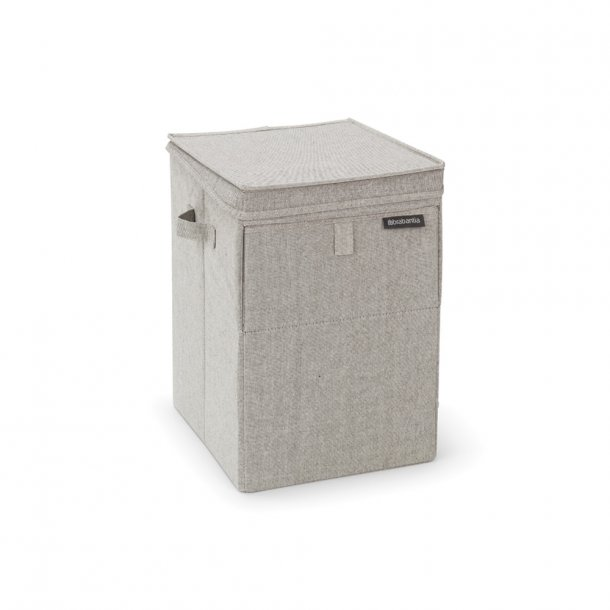 Brabantia Stackable Laundry Box, 35L Gray