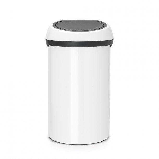 Brabantia Touch Bin 60 Liter Hvid