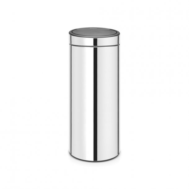 Brabantia Touch bin 30 ltr. Brilliant Steel