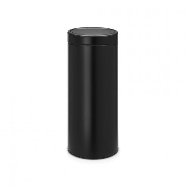 Brabantia Touch Bin 30 Liter.Brabantia Touch Bin 30 Ltr Matt Black Top Handle Bin Nicebuy Dk