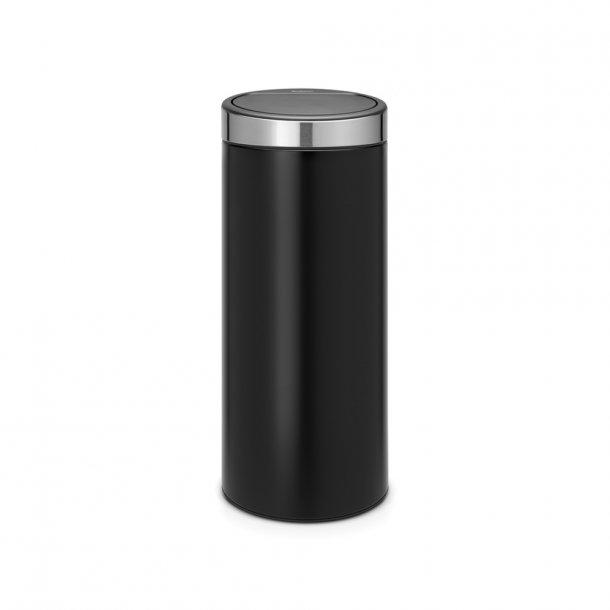 Brabantia Touch Bin 30 Liter / Fpp Låg Mat Sort