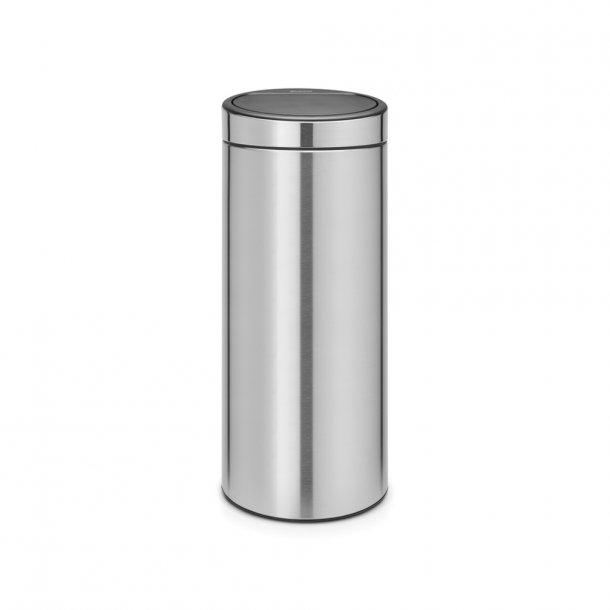 Brabantia Touch bin 30 ltr. Matt Steel