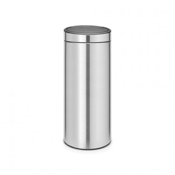 Brabantia Touch bin 30 ltr. Matt Steel Fingerprint Proof