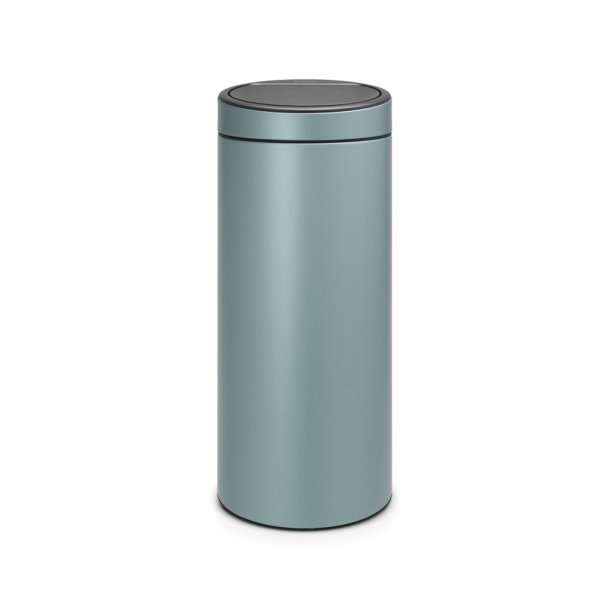 Brabantia Touch bin 30 ltr. Metallic Mint