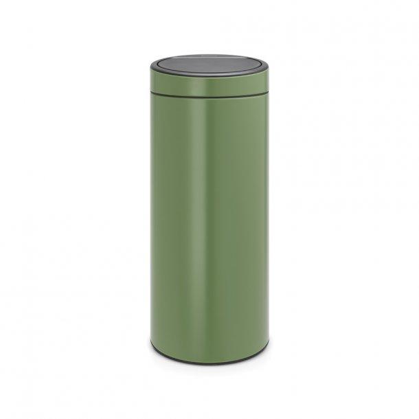 Brabantia Touch bin 30 ltr. Moss Green