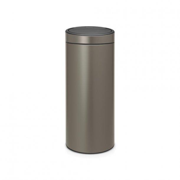 Brabantia Touch bin 30 ltr. Platinum