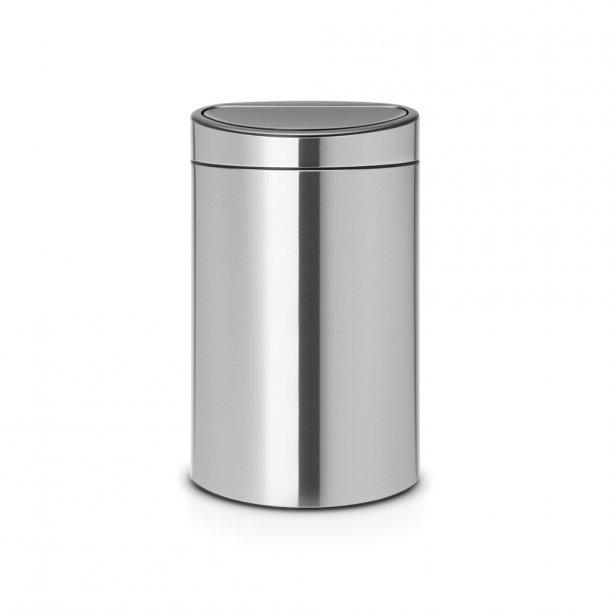 Brabantia Touch Bin 40 Liter Mat Stål