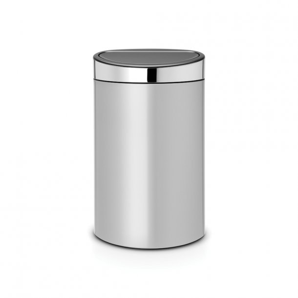 Brabantia Touch Bin 40 Liter Metallic Grey