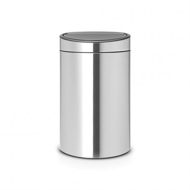 Brabantia Touch Bin Sorteringsaffaldsspand Recycle, 23/10L Mat Stål Fingerprint Proof