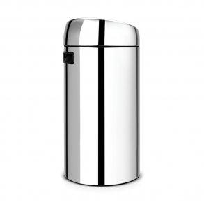 Brabantia Twin Touch bin 2x20 Liter Blank Stål