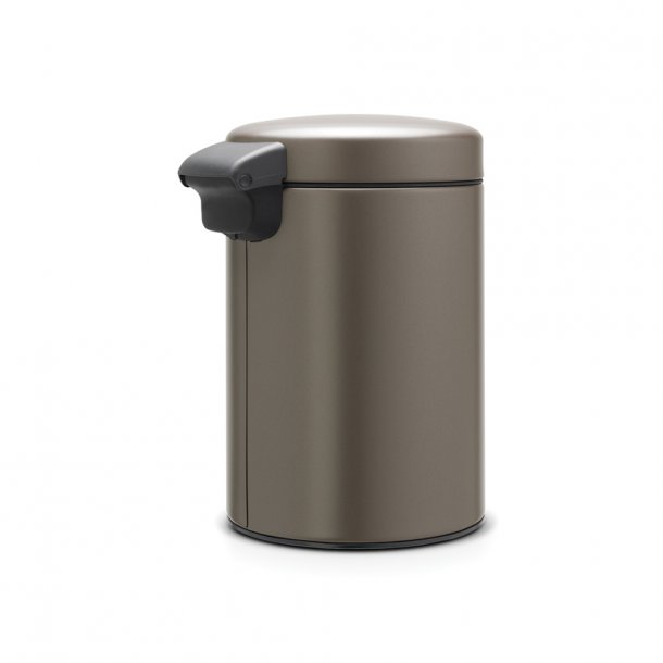 Brabantia Wall mounted bucket NewIcon 3 l. Platinum