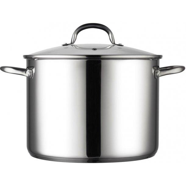 12 liter suppegryde  - 18/8 stål