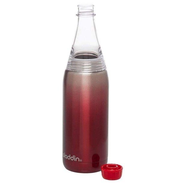 Aladdin Fresco Twist&Go flaske vacuum 0,6L, rød