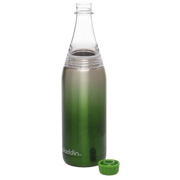 Aladdin Fresco Twist&Go flaske vacuum 0,6L, grøn