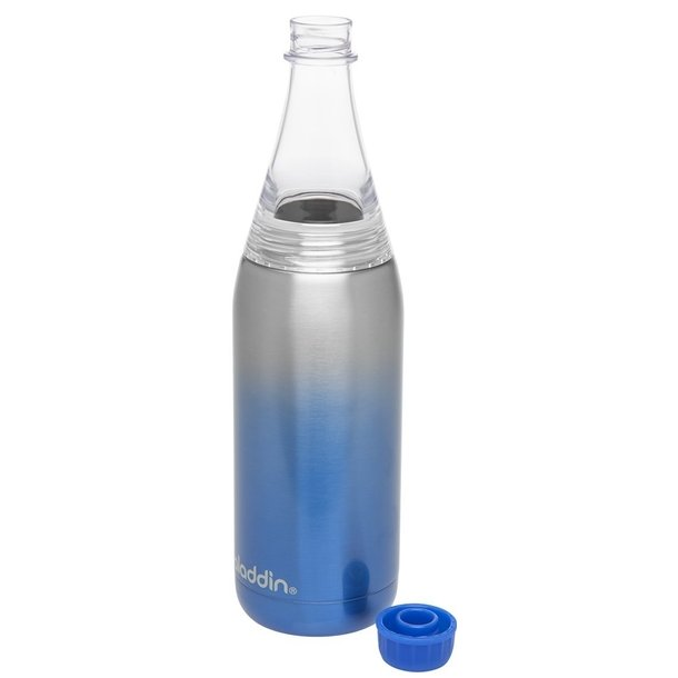 Aladdin Fresco Twist&Go flaske vacuum 0,6L, blå