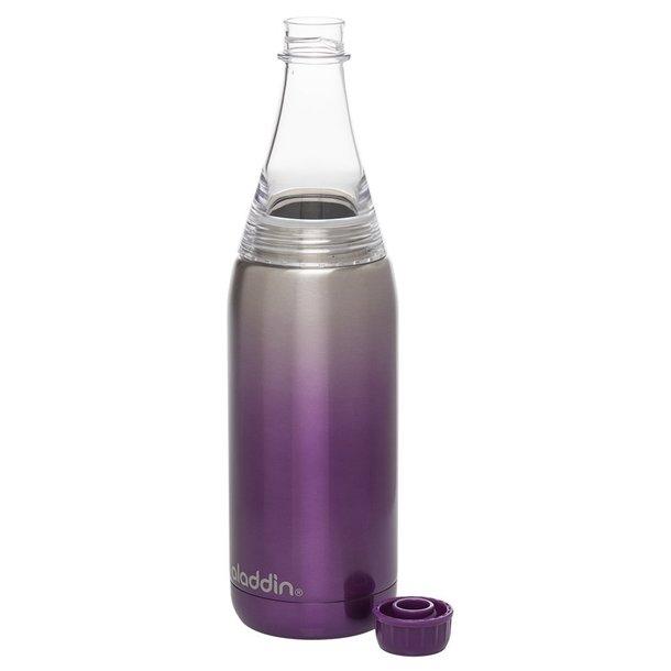 Aladdin Fresco Twist&Go flaske vacuum 0,6L, lilla