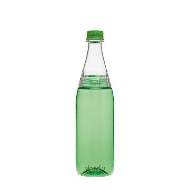 Aladdin Fresco Twist&Go vandflaske 0.7L, grøn