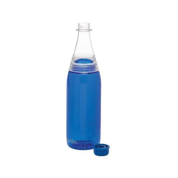 Aladdin Fresco Twist&Go vandflaske 0.7L, blå