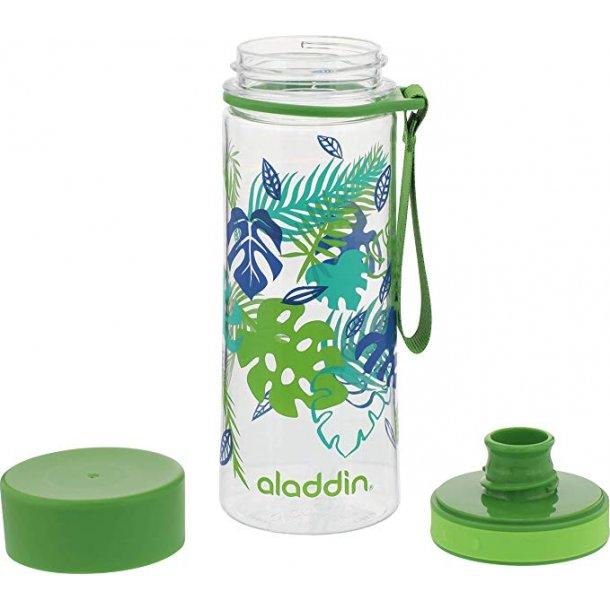 Aladdin Aveo vandflaske 0,35L, grøn mønster
