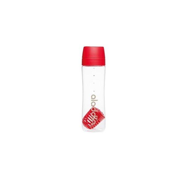 Aladdin Infuse vandflaske 0,7L, rød