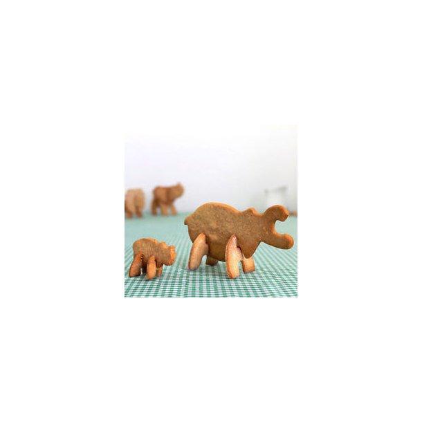 3D Safari Kage Udstikker - Flodhest