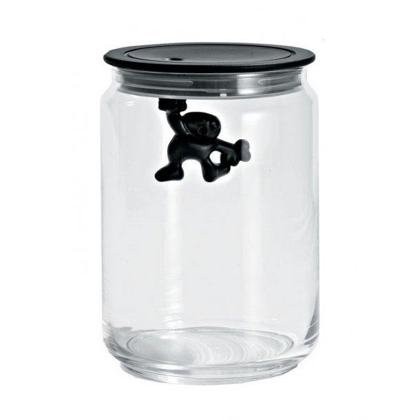 Alessi Gianni Opbevaringsglas 90 cl - Sort
