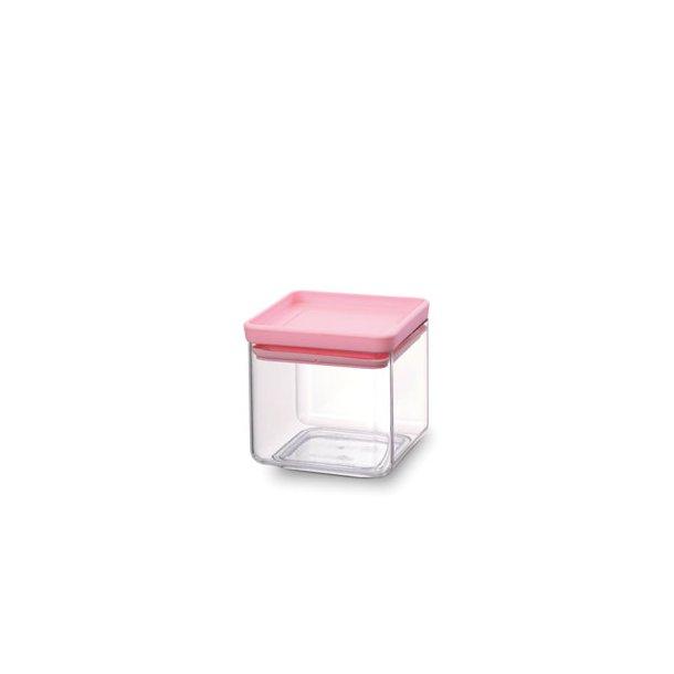 Brabantia storage box square 0.7 l. Tasty Colors Pink