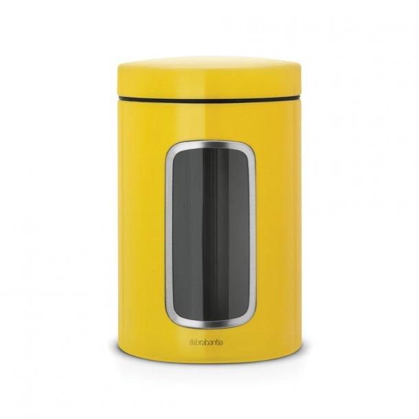 Brabantia Storage 1.4 ltr with window Daisy Yellow