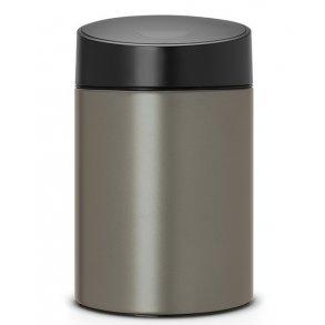 Brabantia Slide Affaldsspand 5 Liter Platinum - Væghængt