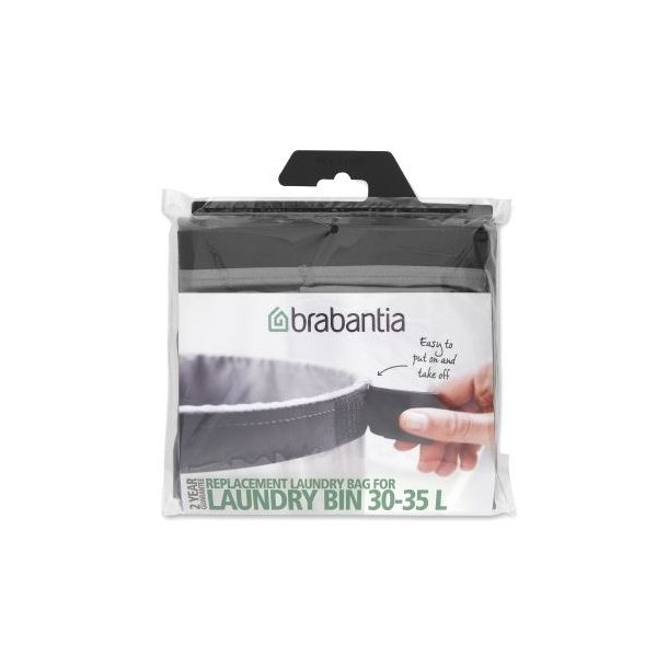 Brabantia Laundry bag 30-35 Liter Grey