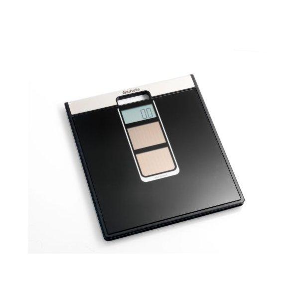 Brabantia Digital Personvægt Med Solceller Sort - 481109