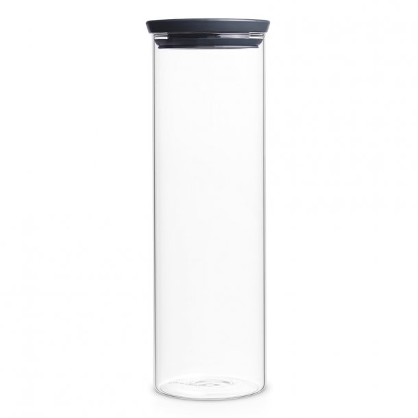 Brabantia Opbevaringsglas 1,9 Liter - Mørkegrå