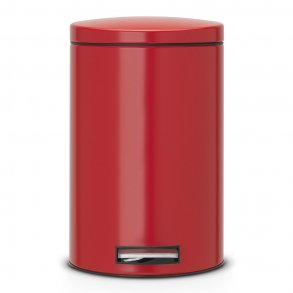 Brabantia Pedalspand 12 Ltr. Passion Red / Rød