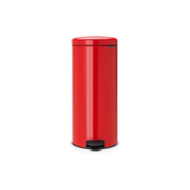 Brabantia Pedalspand newIcon 30 Liter Passion Red / Rød