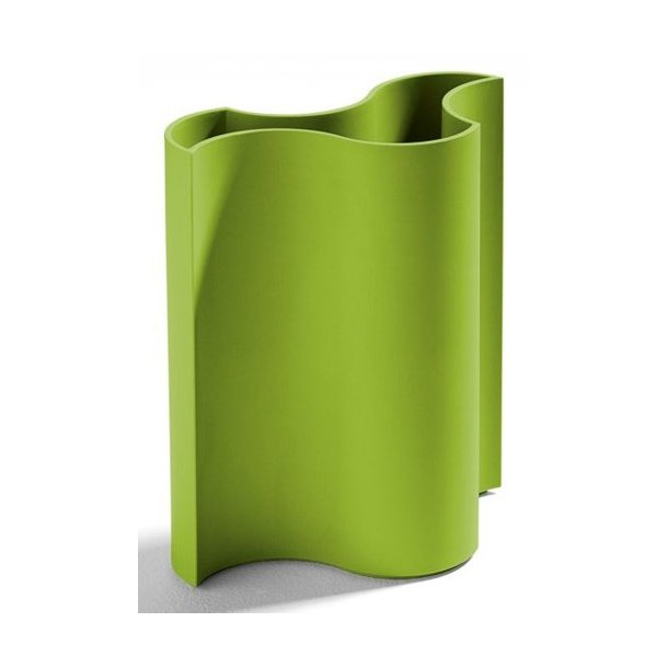 Buy D Zn Flower Wave Vase Lime Fast Delivery Perfect Trustpilot