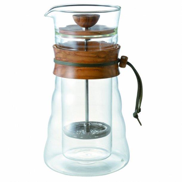 Hario Woodneek Kaffebrygger - 3 Kopper 400 ml