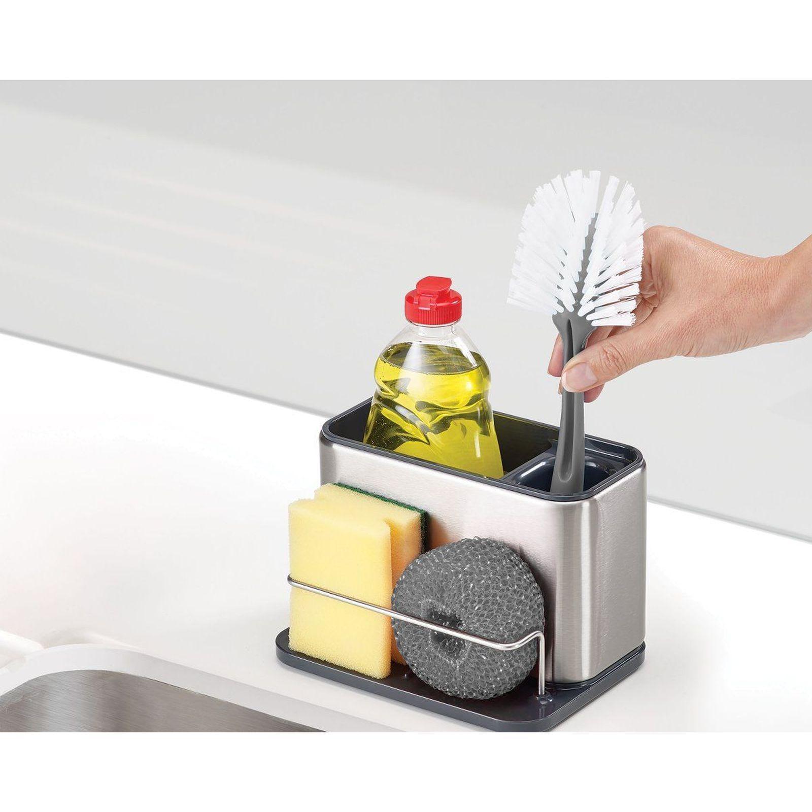 Lækker Joseph Joseph Tidy Opvaskebørsteholder Stor - Rustfrit Stål JK-64