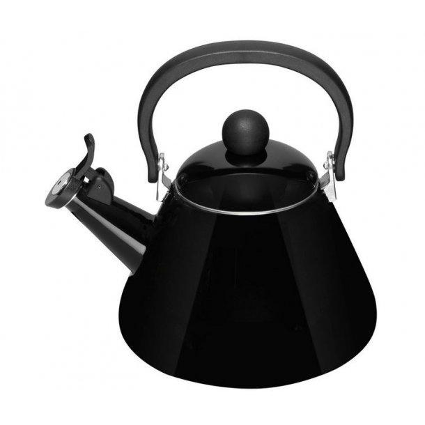 Le Creuset kettle w / Flute 1.6 Liter - Black