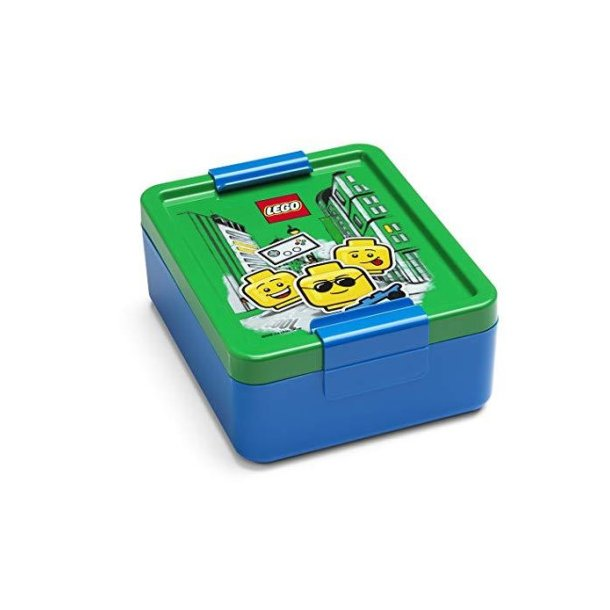 Lego Madkasse Blå - Iconic Boy
