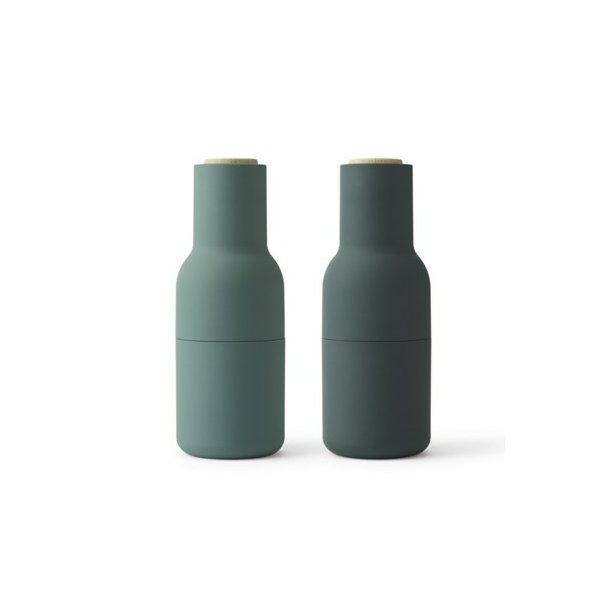 Menu Bottle Grinder Salt- og Pebersæt - Mørke Grøn